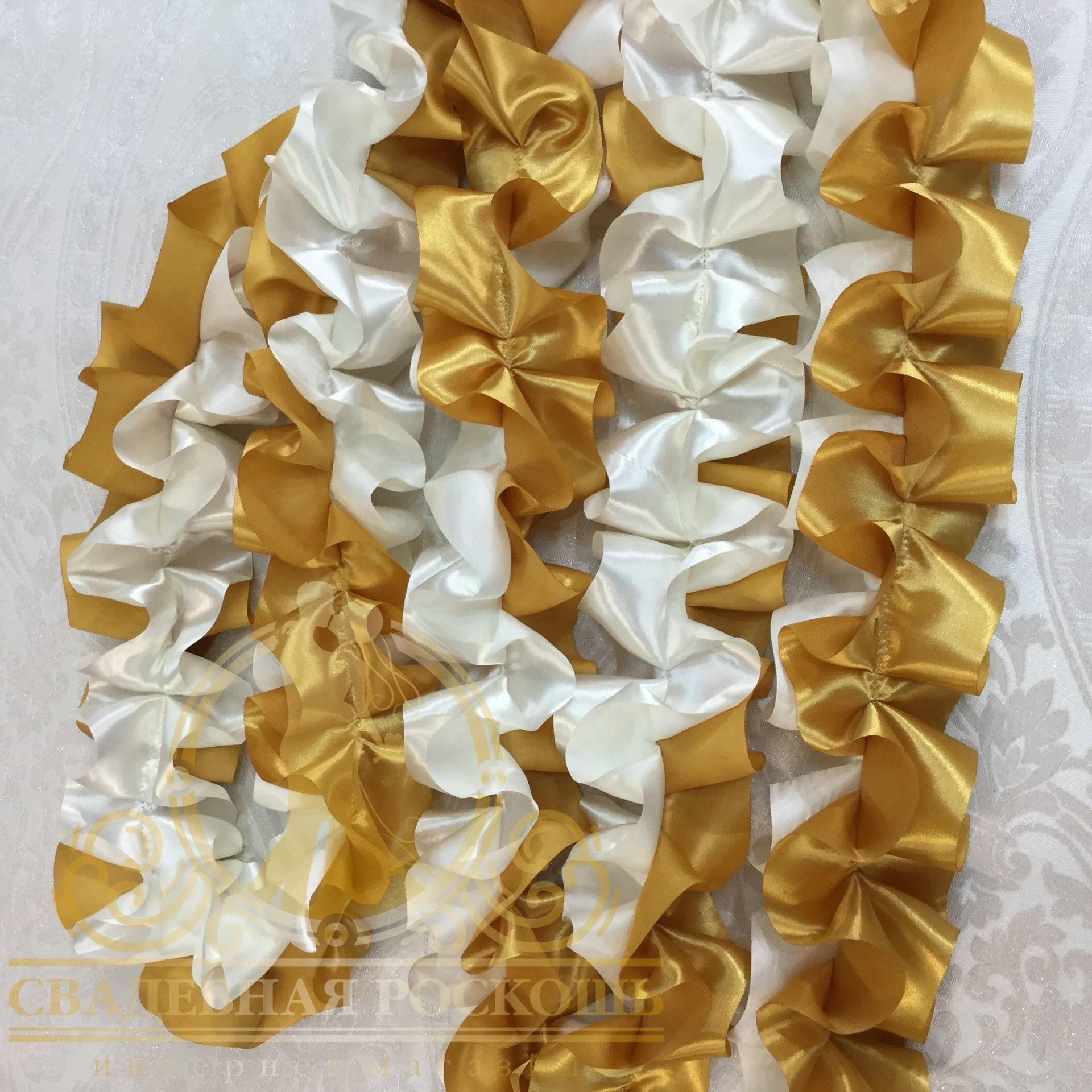 Вышивка атласными лентами наволочки для декоративных 33